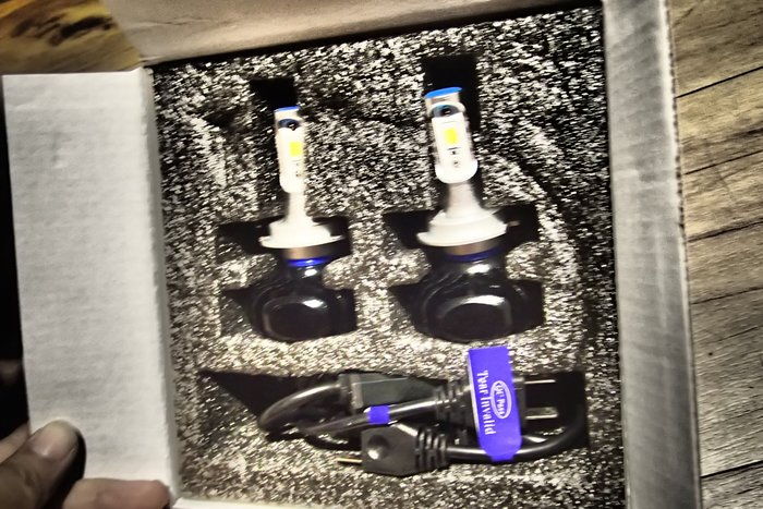 DJD19092409全新 LED大燈燈泡H1 H4 H7 H11 9005 9006 SENTRA180 M1 HV
