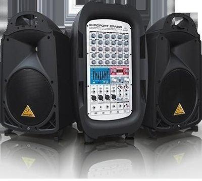 【金聲樂器】BEHRINGER EPA 900 行動PA系統 900擴大機系統