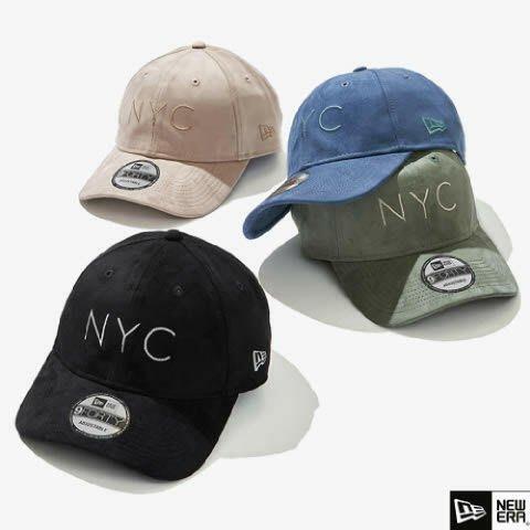南◇2020 12月 NEW ERA NYC 940 棒球帽 可調式 男女 老帽 運動帽 紐約 黑色 米色 藍色 綠色