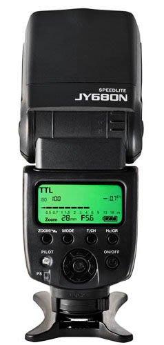 呈現攝影-Viltrox JY-680N TTL閃光燈 Nikon用 iTTL CLS 主控 從屬 光觸發 離機閃 公司貨