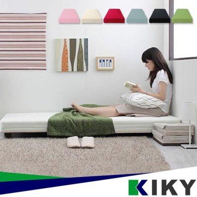【6特硬床】日本熱銷│百合夫人親子【子床】 床墊+輪子 (6色可選) 另有床架 床組 KIKY 上下床 雙層床