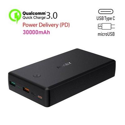 IB 奇點生活 + Aukey PB-Y7 QC 3.0 + PD 快速充電後備電源 30,000mAh