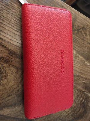 法國精品BONOBO限量包/紅色長皮夾