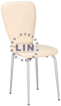 【品特優家具倉儲】061-1餐椅早餐椅夏琳餐椅烤銀腳