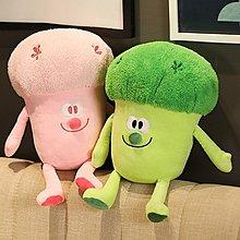 熱銷~爆款~愛的迫降玄彬孫藝珍周邊同款花椰菜抱枕創意西藍花玩偶娃娃機毛絨公仔W2E92449