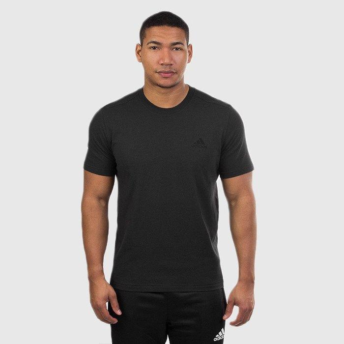 【紐約范特西】現貨 Adidas 3-STRIPES JERSEY SS 素面短TEE 黑/白/灰 3色