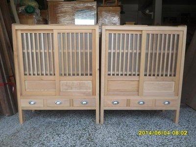 台灣國寶檜木..中型菜櫥