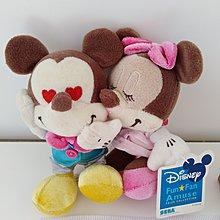 全新可愛迪士尼 米奇/米妮 公仔 (Disney Mickey Mouse/ Minnie Mouse)