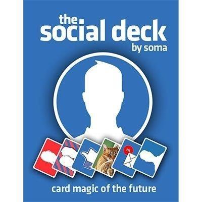 [魔術魂道具Shop] 美國原版The Social Deck by Soma~~臉書牌 出清價!!!
