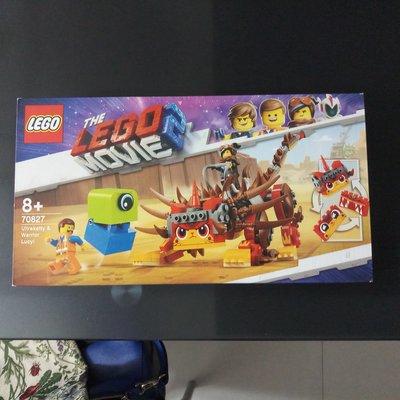 Lego 70827 (Lego Movie 2) (可與 76139 21315 71043 71044 75936 共融)