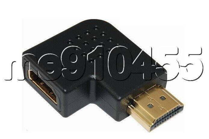 HDMI轉接頭 公轉母 L型 9 0°公對母 HDMI 轉接頭 壁掛 電視機 HDMI 轉換頭 現貨