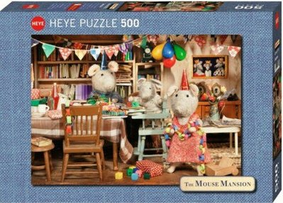 The Mouse Mansion-Celebration-Heye Jigsaw Puzzle 29705 - 500