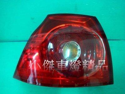 ☆小傑車燈家族☆全新vw golf 5 golf5代 golf 05-08年原廠型尾燈外側一顆900元