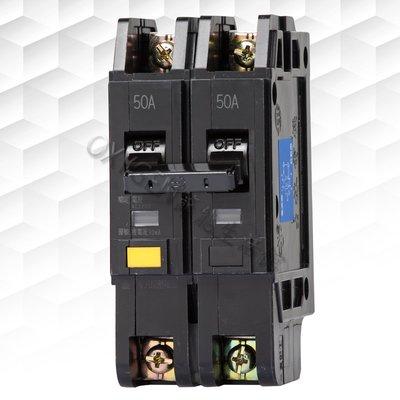 【士林電機】漏電斷路器 NVB-50L 2P 15A/20A/30A/40A/50A (110~220V)