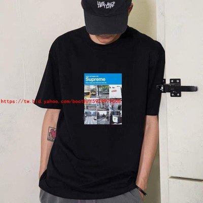 Supreme 21FW Verify Tee九宮格街景照片短袖TEE恤男女情侶潮夏新【7205】