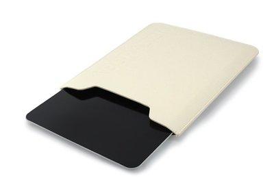 ※全新未拆封※ ABBRAZZIO 真皮iPad 2,New iPad,iPad Air保護套 清新白,只要500元