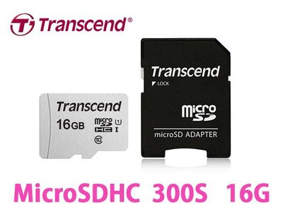 「Sorry」Transcend 創見 MicroSDHC T-Flash TF 16G U1 95M 記憶卡 附轉卡