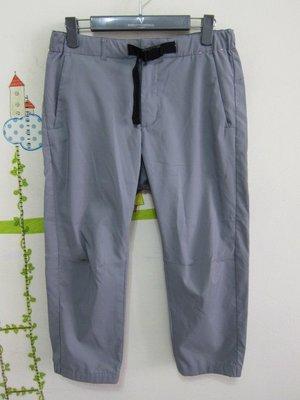 衣市藍~UNIQLO 休閒七分褲 (S~) (190901)