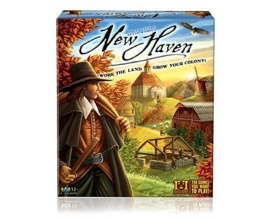 【陽光桌遊世界】(免運) New Haven 新天地 德國桌上遊戲 Board Game