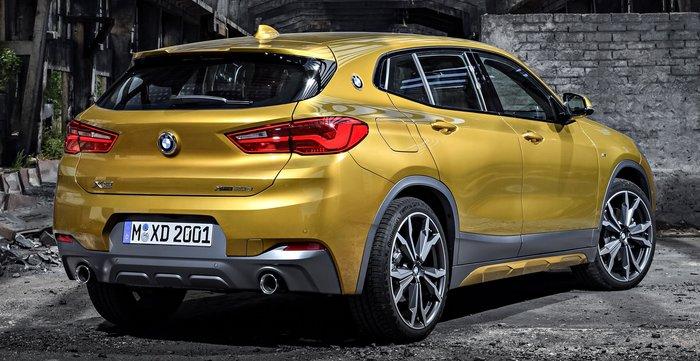 【樂駒】BMW F39 X2 M Sport 車頂 尾翼 空力 套件 精品 改裝 原廠 擾流