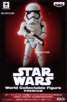 日版 WCF Premium 單售 A款 高階 風暴兵 白兵 STORM TROOPER Star Wars 星際大戰