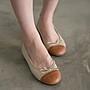 娃娃鞋 新品 小香風拚色  芭蕾舞鞋  台灣手工鞋 丹妮鞋屋