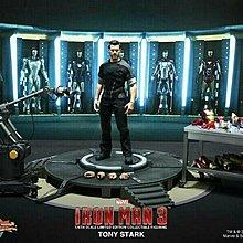 Hot Toys MMS191 Iron Man 3 鐵甲奇俠 Tony Stark workshop 1/6 figure 全新啡盒未開封