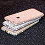 丁丁 iPhone 11 Pro Max Xs XR i8/7 Plus鑲鑽金屬邊框閃粉手機殼i6s plus鑲鑽手機殼