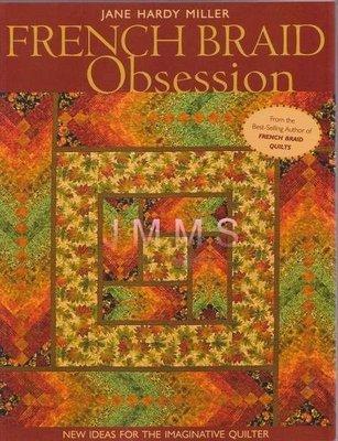 【傑美屋‧縫紉之家】美國拼布書籍~french braid obsession漸層花色的取圖與配色 #10637
