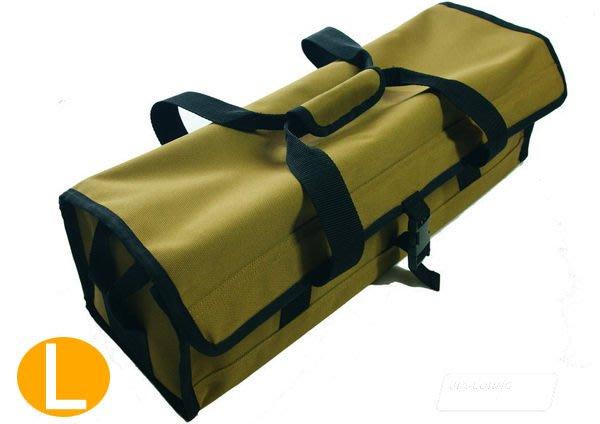 丹大戶外用品 台灣製造 工具袋 裝備袋/收納袋/提袋 可收納營釘/營槌/營繩/刀具 L號 BG-048