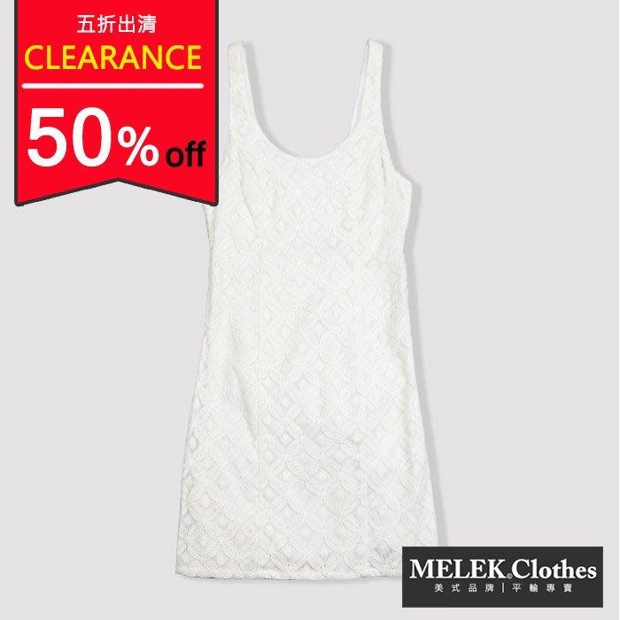 【HOLLISTER Co.】【HCO】HC女款洋裝無袖全蕾絲白 F04130704-01