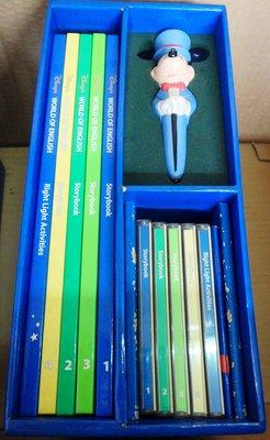 【兩手書坊】d童書~Storybook 書+對錯活動練習+5CD(贈送筆)寰宇迪士尼美語WORLD OF ENGLISH