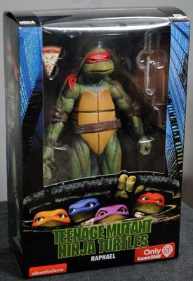 【北美現貨正版】NECA GameStop 限定忍者神龜套TMNT 7寸可動人偶 忍者龜限定 一套4個