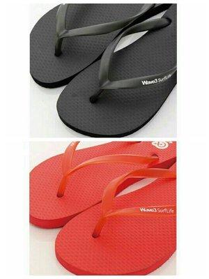 WAVE3 女款/彈力果凍 基本款素色人字夾腳拖鞋-172061