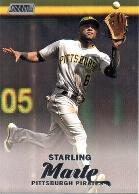 ^.^飛行屋(全新品)MLB 美國職棒-匹茲堡海盜隊-Starling Marte 球員卡(棒球卡)#266
