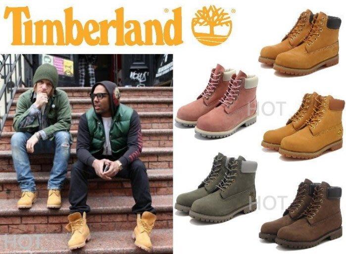 Timberland 10061 黃靴 黃金靴 粉 軍綠 咖啡 防水登山鞋 基本款 M版 休閒 余文樂 情侶鞋 男女尺寸