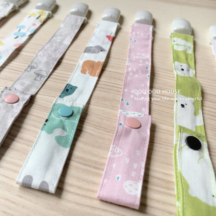 *Dou Dou House Collection*手風小物:嬰幼兒手作奶嘴鍊-10款(現貨)