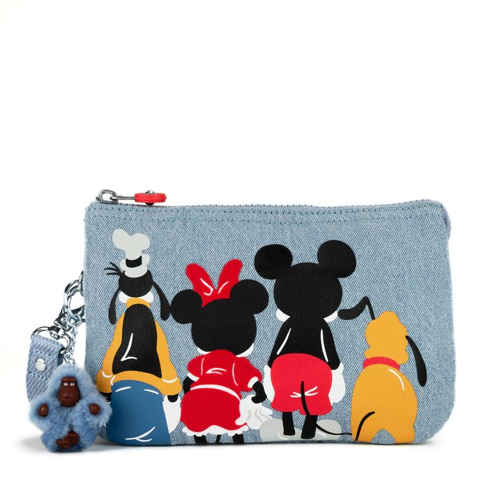 Coco小舖 迪士尼 90年紀念款Creativity Mickey Mouse Extra Large Pouch