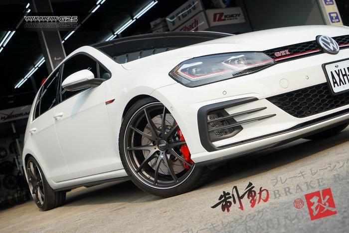 VW GOLF GTI7 專用對應 RAYS G25 MT 單片鍛造 底盤制動完整升級 歡迎詢問 / 制動改
