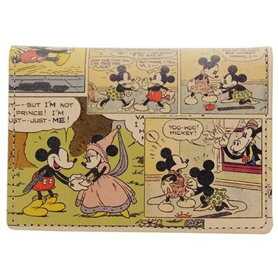 🇯🇵【Made in Japan】Mickey and Minnie 米奇 米妮 日本原裝正版 真皮 卡片套  div-dca-16