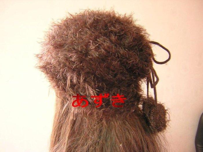 臺灣製秋冬兩用系列-毛帽x帽圍雙用款-毛球系-咖-紅豆商行