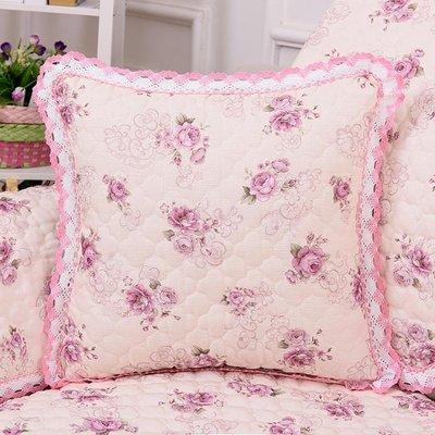 沙發抱枕亞麻沙發靠墊床頭抱枕套抱枕套床頭靠背套靠墊WY