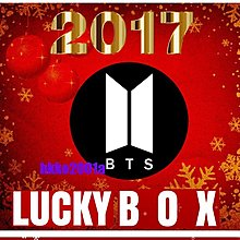 BTS [ 2017 聖誕快樂 Lucky Box ] 現貨在台 -hkko2001a-防彈少年團 幸運盒 週邊應援