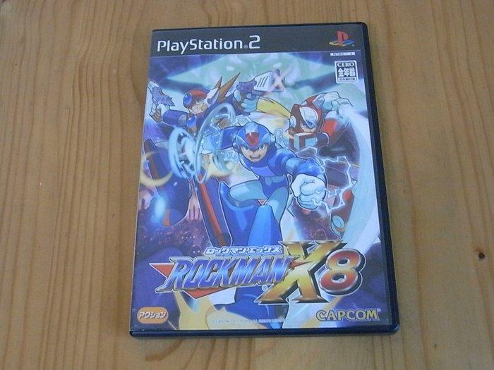 【小蕙生活館】PS2~ Rockman X8 洛克人X8 (純日版)