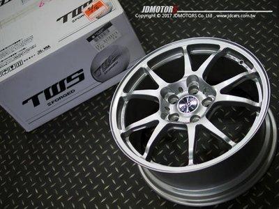 JD-MOTORS日本原裝 TWS  T66-F 16吋 17吋 18吋 19吋 灰色 銀色 金色 鍛造輪圈