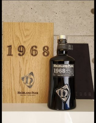 Highland Park 1968 Vinatge 2008 Bottling -45.6% Limited Edition of 1550 Bottles
