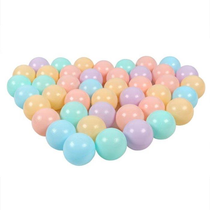 海洋球彩色球環保波波球兒童球池圍欄游戲屋1-2歲嬰兒寶寶球玩具wy