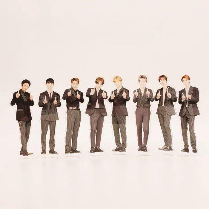EXO周邊七週年紀念周邊成員個人款人型立牌