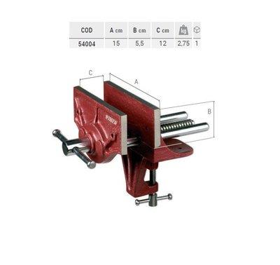 (木工工具店)PIHER 54004 輕型木工用虎鉗 150mm*120mm*55mm