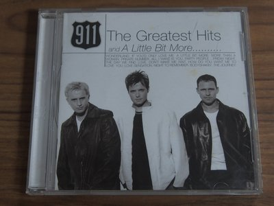 ◎MWM◎【二手CD】911- The Greatest Hits And A Little Bit More…… 台版